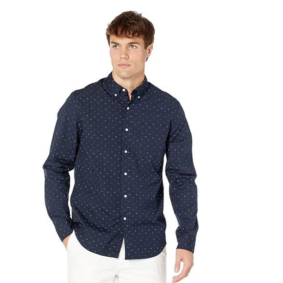 J.Crew Classic stretch 98% organic cotton shirt